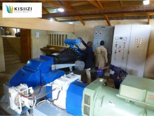 300kW hydro-electric generator at Kisiizi Electricity