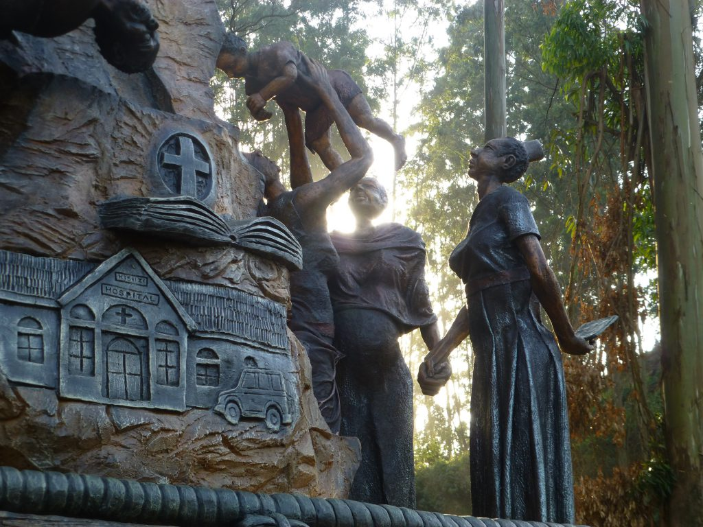Kisiizi Falls Monument