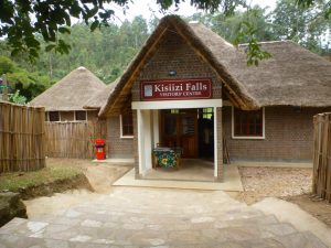Kisiizi Falls Visitors Centre entrance